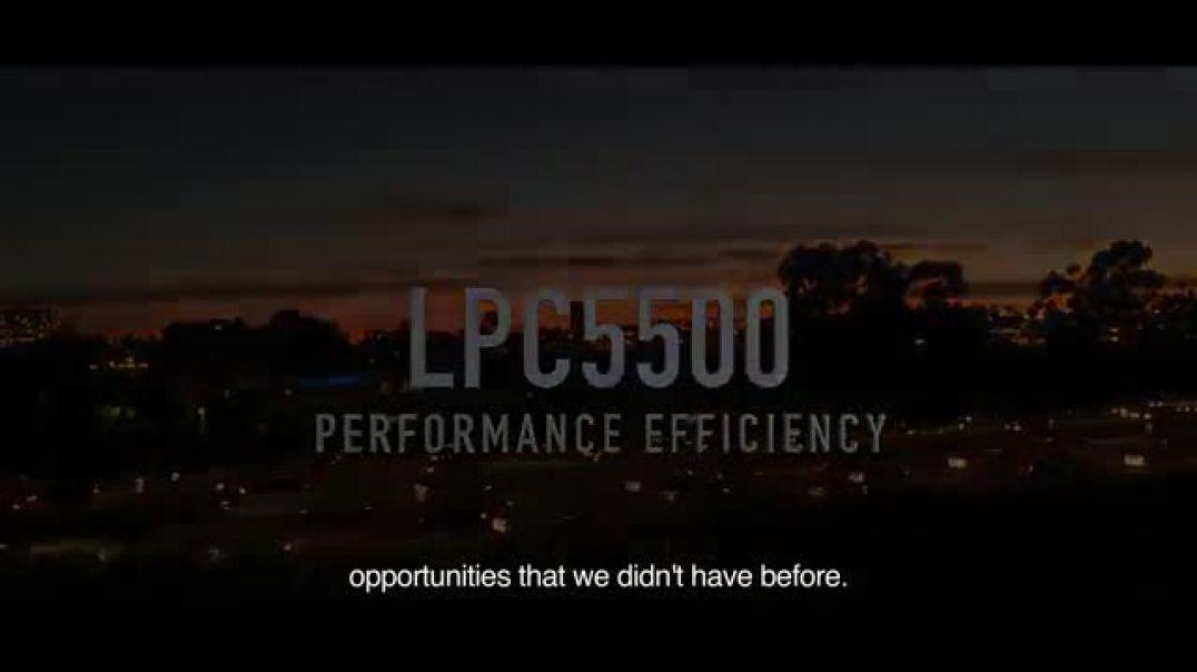 NXP LPC5500 Performance Efficiency