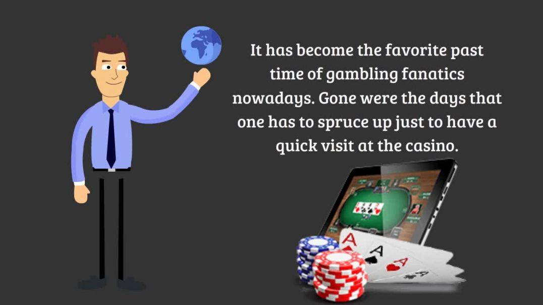 Poker online.