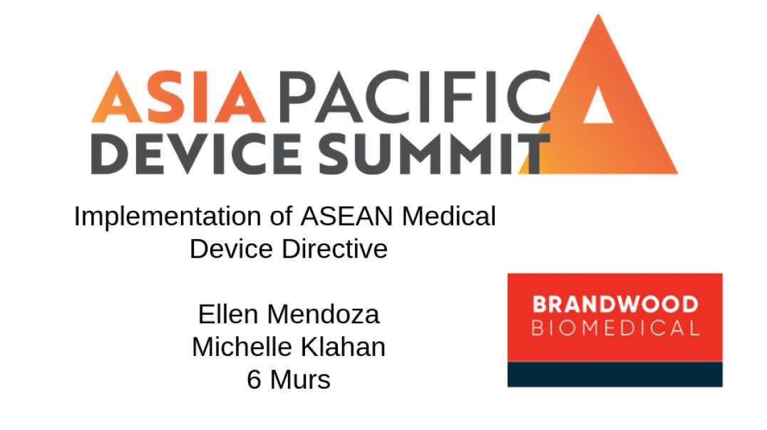 Everyone is different in SE Asia. Implementation of ASEAN Medical Device Directive