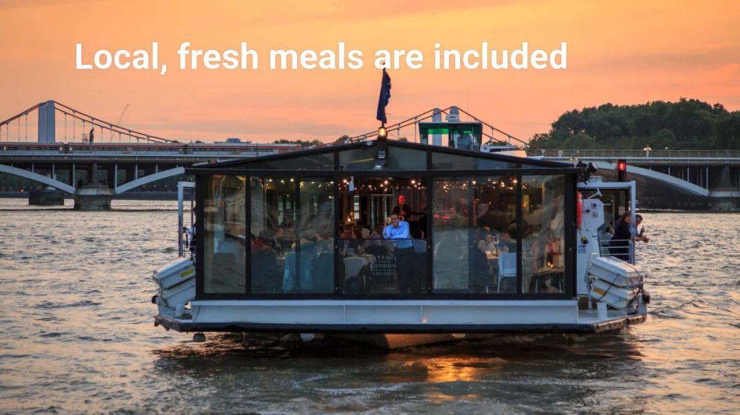 Thames River Cruise Dinner