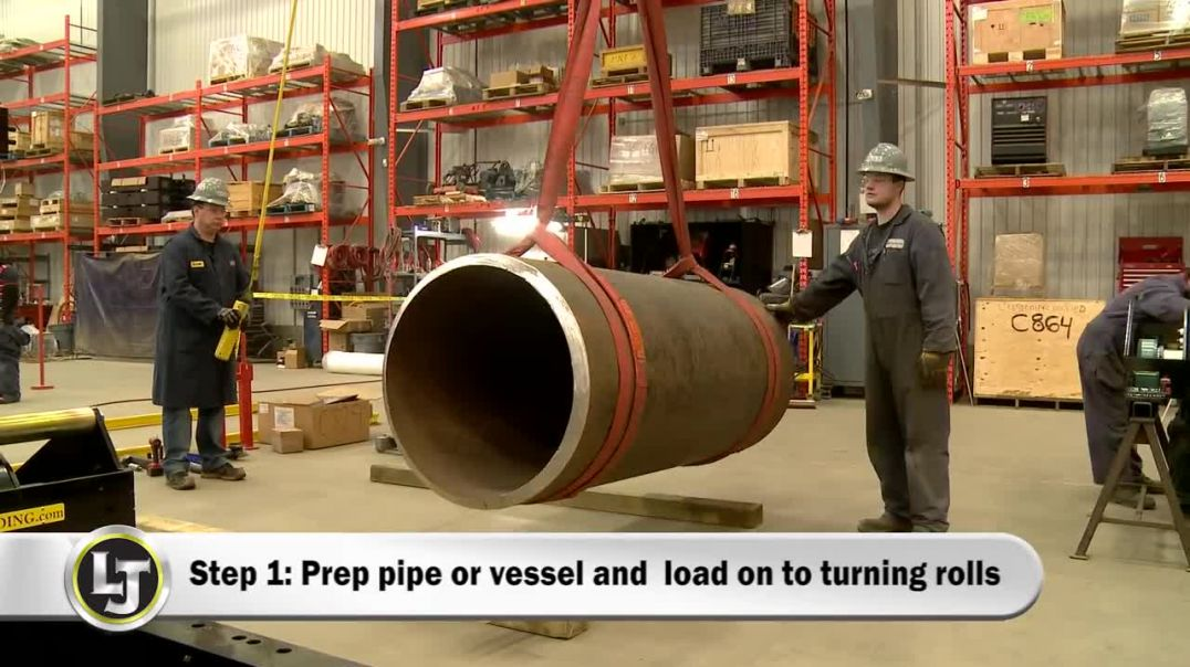 Turnkey Submerged Arc Vessel Welding System and Training Demonstration & Review.mp4