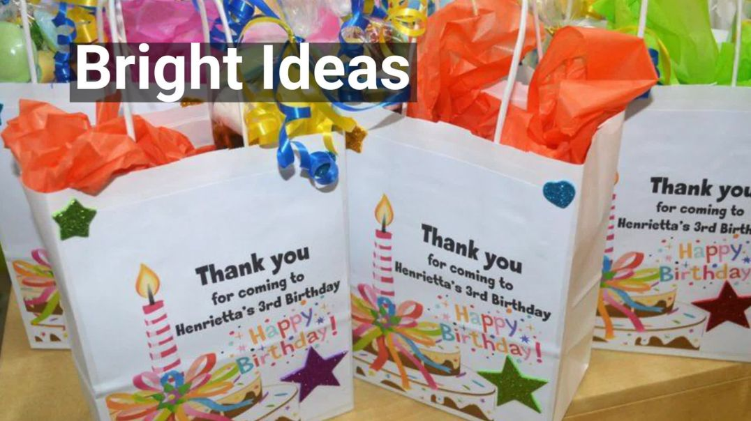 Childrens Party Bags