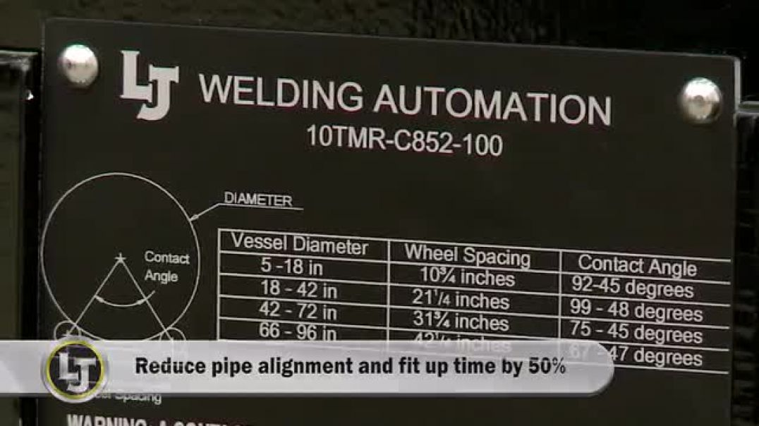 Pipe Double Jointing System Demonstration & Review (10TMR Pipe Turning Rolls).mp4