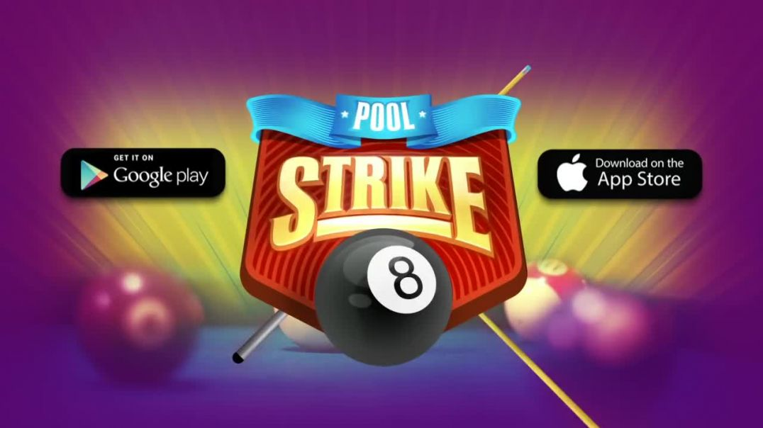 Pool Strike- Best free 8 ball pool online game for IOS and Android