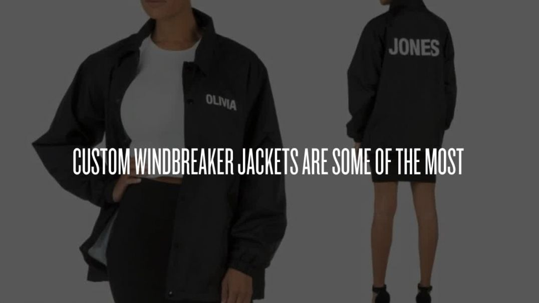 Custom Windbreaker Jackets No Minimum.mp4