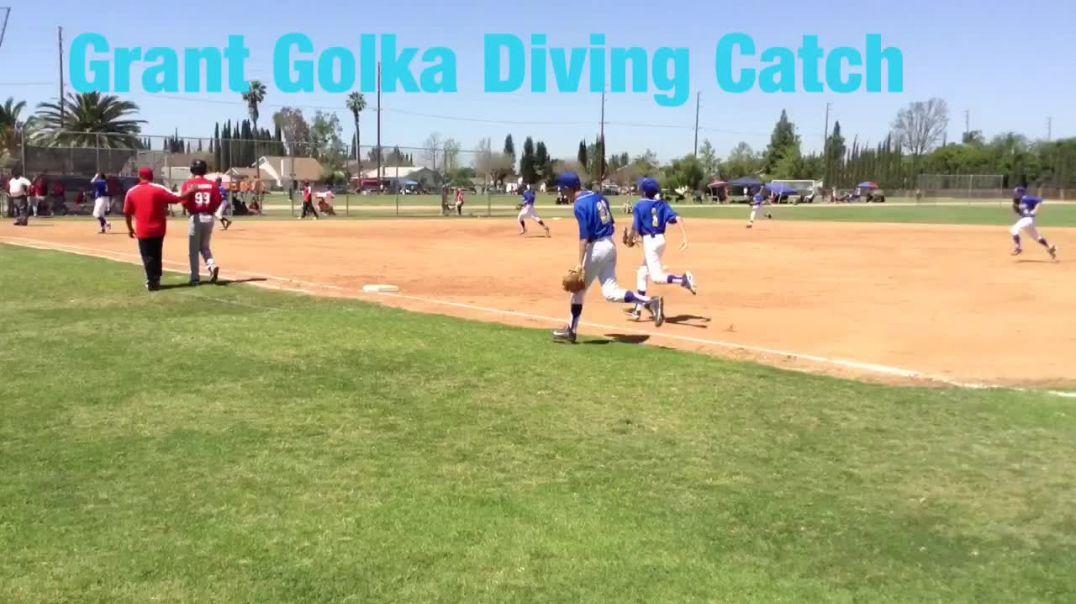 Grant Golka Diving Catch