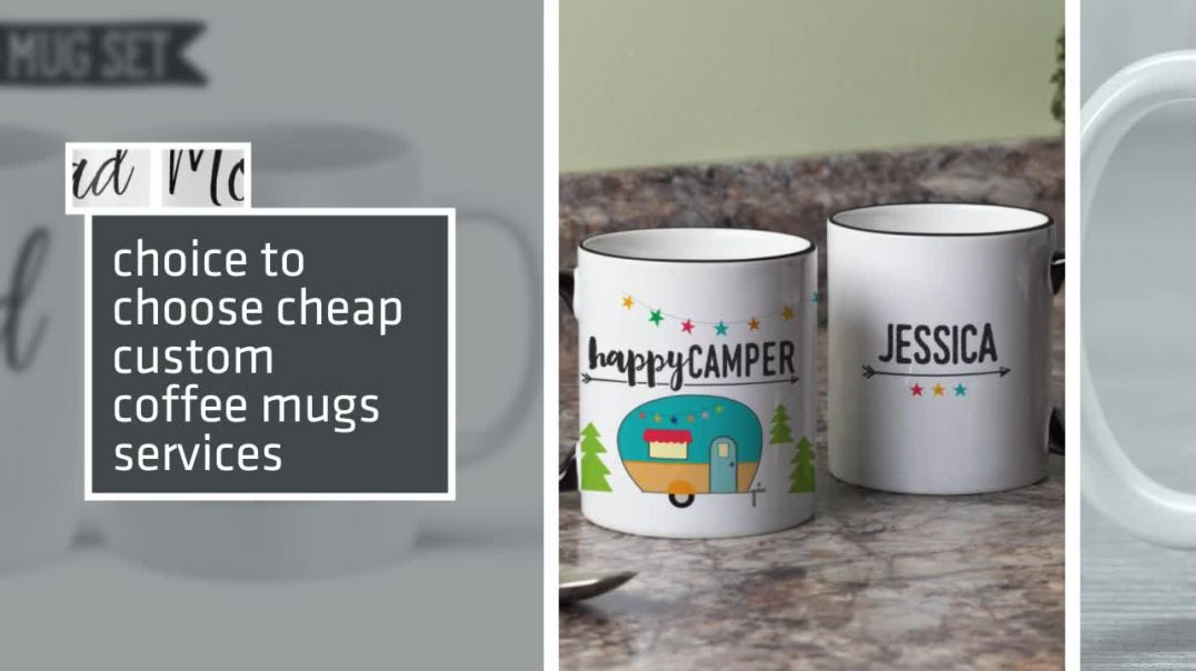 Custom Mugs no Minimum