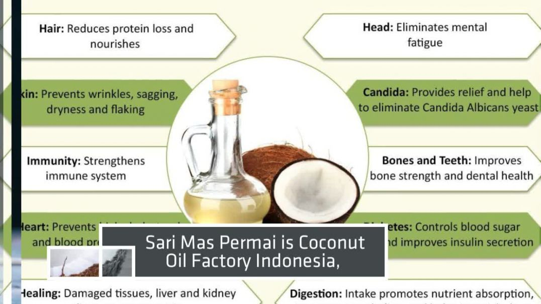 Coconut Oil Factory Indonesia.