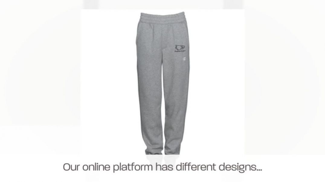 Custom Joggers Pants - Make Your Own Joggers.mp4