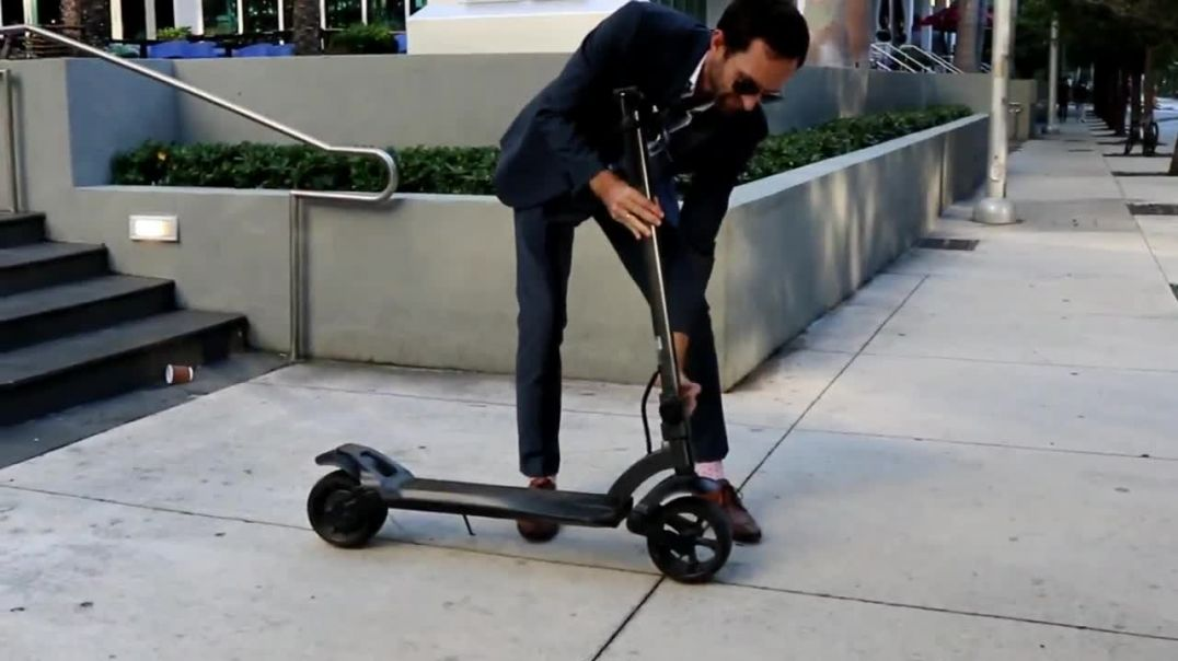 The best electric scooter for commuting - Widewheel Adult scooter