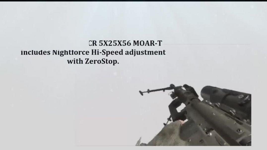Nightforce Optics - NF C555 Nightforce ATACR 5x25x56 MOAR-T