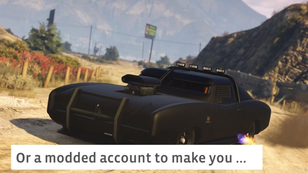 Gta Online Modded Account.mp4