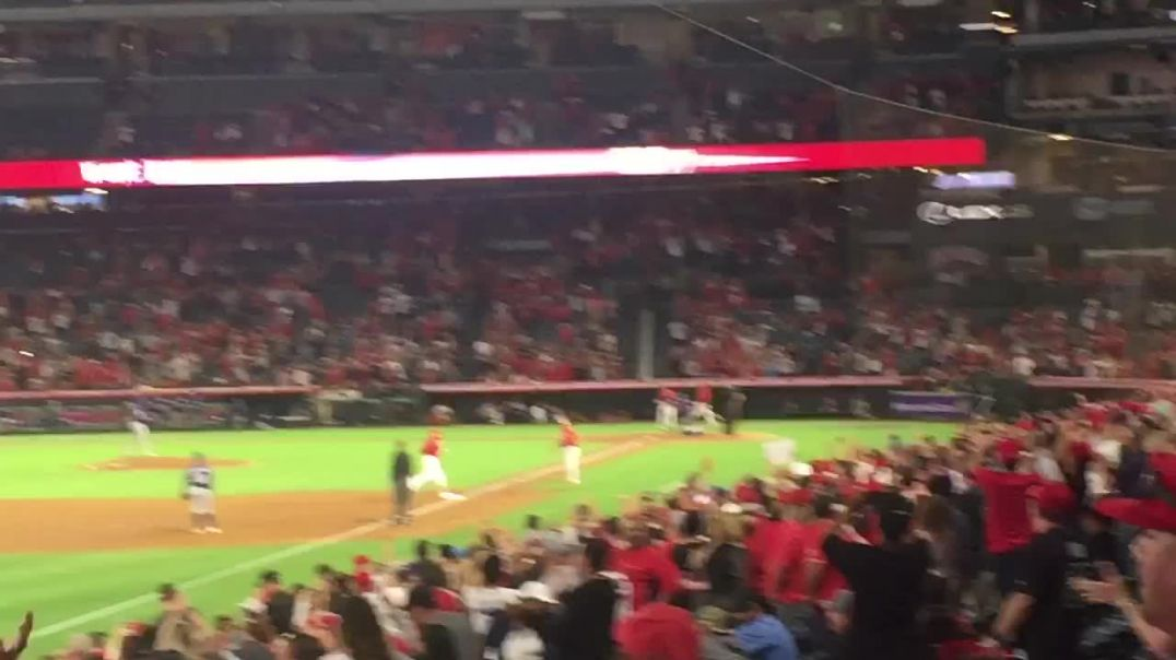 Mike Trout 43rd Homerun of the Season