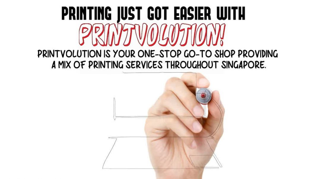 Print Shop Creatively Provides Printing Services.mp4