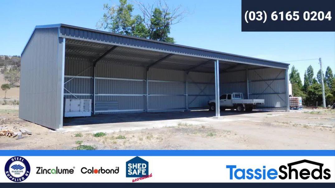 Tassie Sheds - Sheds built Tassie Tough