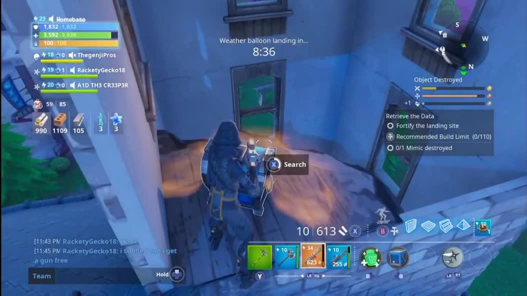 """FORTNITE   SAVE THE WORLD - HOW TO SPAWN A MIMIC   """"DESTROY A MIMIC"""" QUEST"""