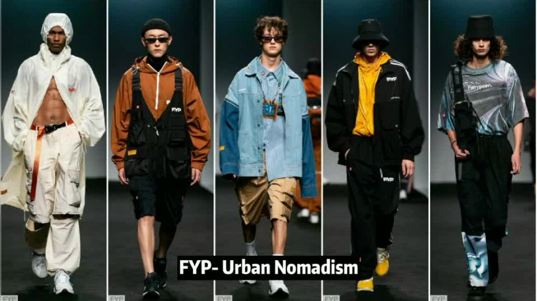 RISING CHINA- The Comprehensive Analysis of Menswear in Shanghai Fashion Week | POP Fashion