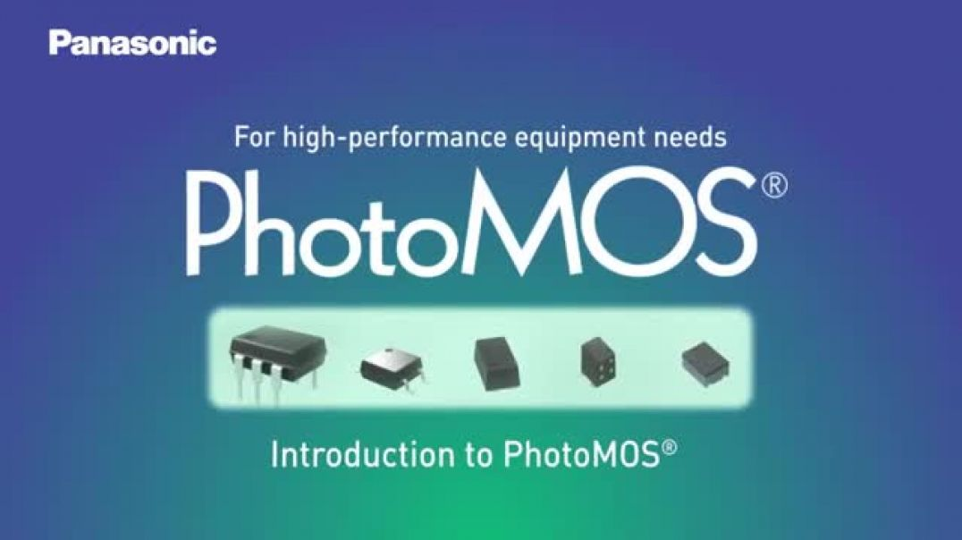 Panasonic's PhotoMOS Introduction