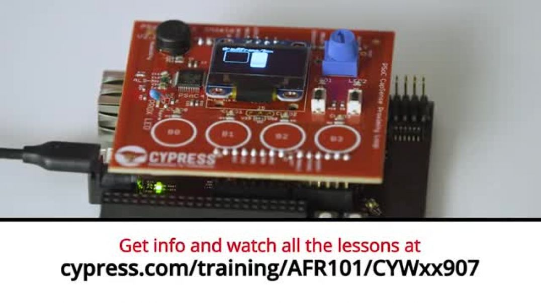 Cypress: Amazon FreeRTOS 101 CYWxx907: Lesson 1 Intro to CYW43907