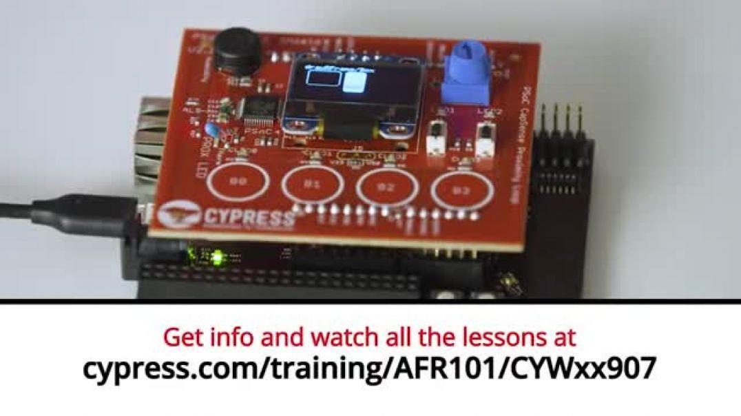 Cypress: Amazon FreeRTOS 101 CYWxx907: Lesson 1 Intro to CYW43907