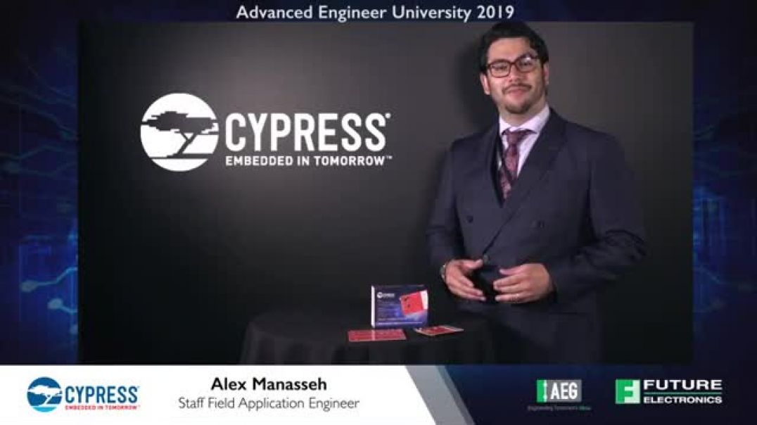 AEU 2019: Cypress CY8CKIT-148 Evaluation Kit