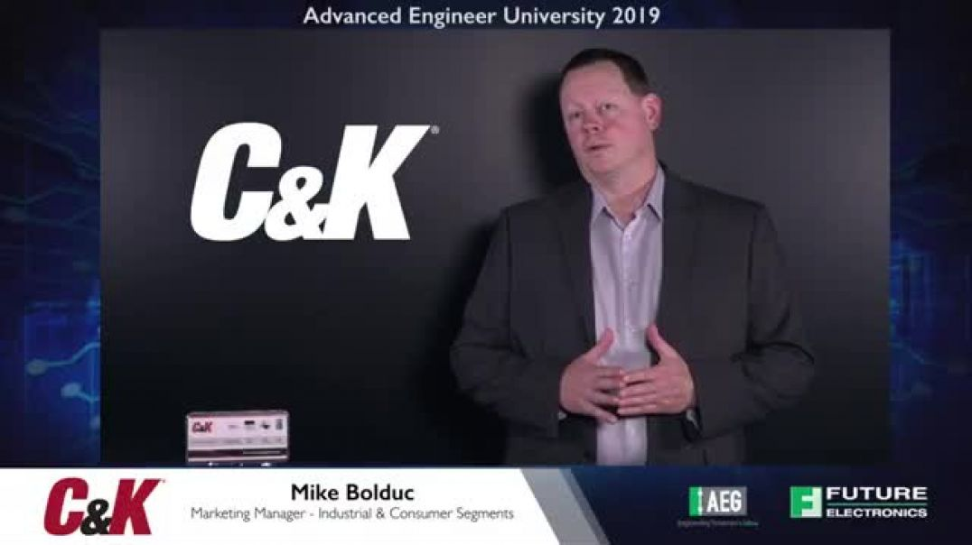 AEU 2019: C&K - Anti-Vandal Switches