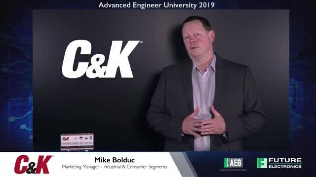 AEU 2019: C&K - Anti-Vandal Switches
