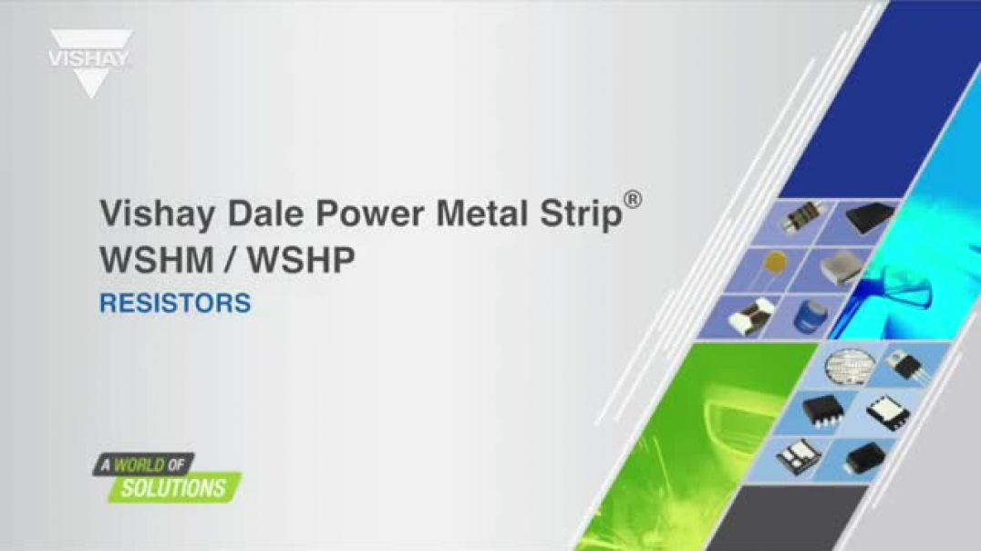 Vishay Dale Power Metal Strip Resistors: WSHM2818/WSHP2818