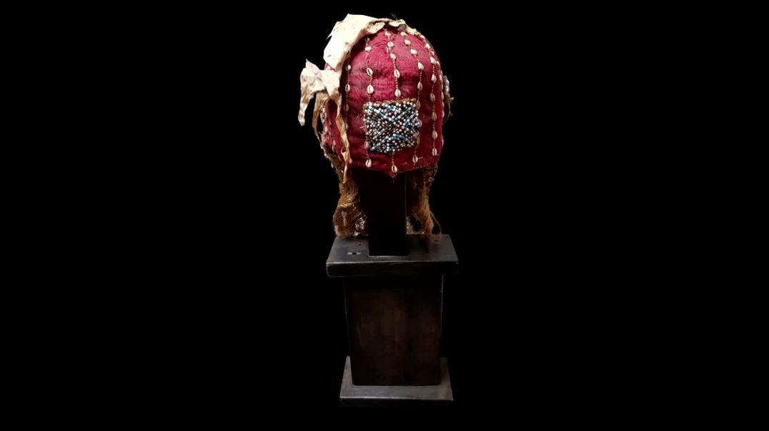 Affricana Art Kuba Mask.mp4