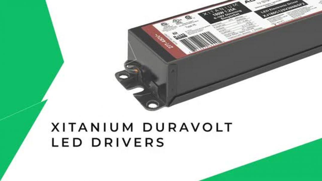 Signify: The Advance XitaniumDuraVolt LED Drivers