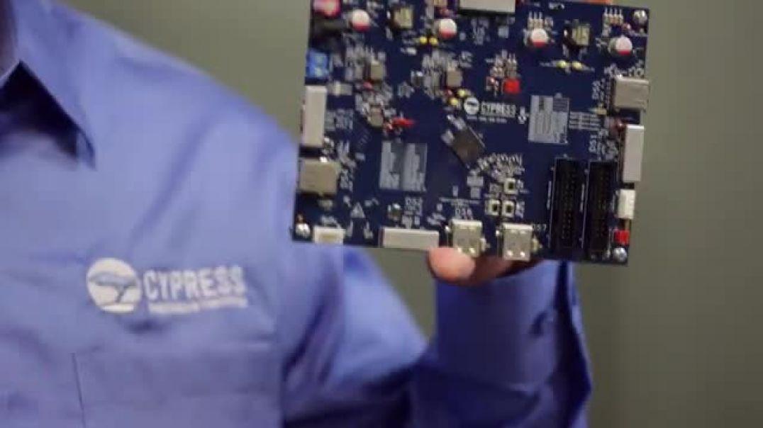 CypressEZ-USB HX3PD USB 3.1 Gen 2 Hub Controller Demo